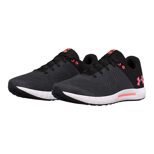 3e97f61660a Under Armour Women s Micro G® Pursuit Running Shoes - Black White ...