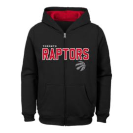 Toronto Raptors Kids' Stated Full Zip Hoodie