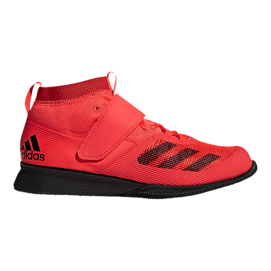 10de506fd08ec adidas Men s Crazy Power RK Weightlifting Shoes - Red Black