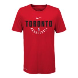 Toronto Raptors Kids' Elite Practice T Shirt