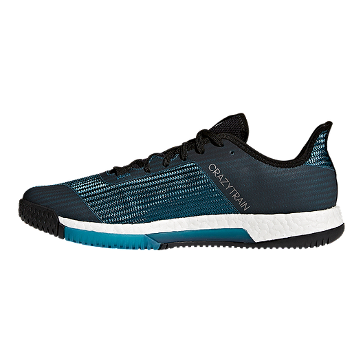 brand new factory price save off adidas Men's CrazyTrain Elite Training Shoes - Teal