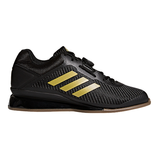 e8c2a77fa626 adidas Men s Leistung 16 II Weightlifting Shoes - Black Gold