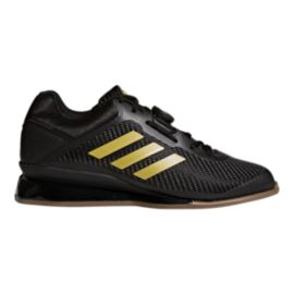 adidas Men's Leistung 16 II Weightlifting Shoes - Black/Gold