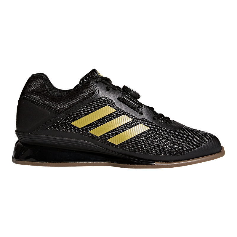 adidas Men's Leistung 16 II Weightlifting Shoes BlackGold