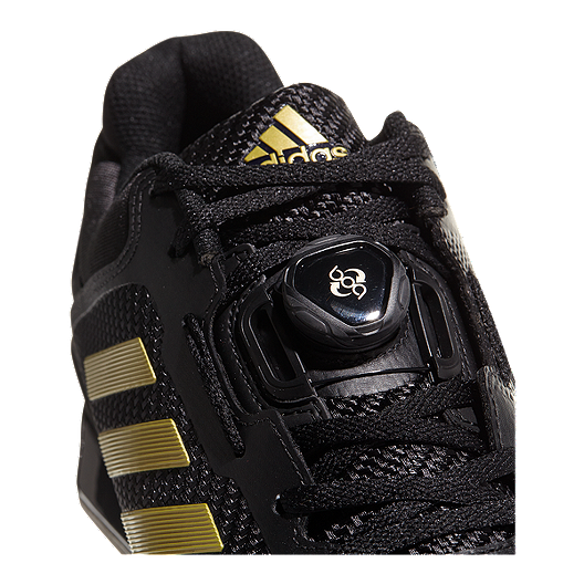 dd4d935e137a adidas Men s Leistung 16 II Weightlifting Shoes - Black Gold. (0). View  Description
