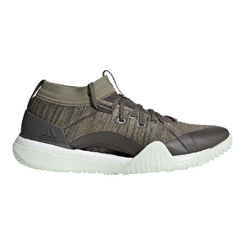8591a1425a2dd9 adidas Women s Pure Boost X TR 3.0 Training Shoes - Green
