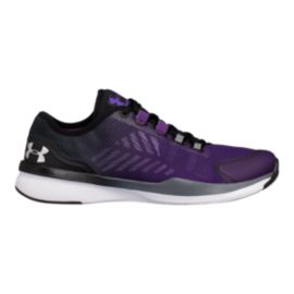 Under Armour Women's Charged Push TR Training Shoes - Grey/Silver