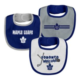 Toronto Maple Leafs Infant Fair Catch Bib Set - 3-Piece