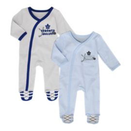 Toronto Maple Leafs Infant Sunday Best Coverall Set - 2-Piece