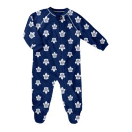Toronto Maple Leafs Infant Raglan Zip Up Coverall