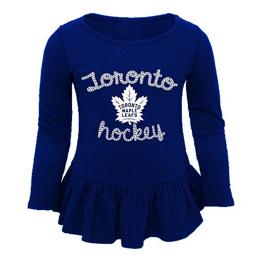 pretty nice 3d2ed 1e366 Toronto Maple Leafs Toddler Girls' Puck Drop Set