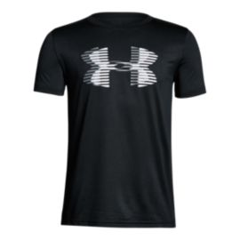 Under Armour Boys' Tech Big Logo Solid T Shirt