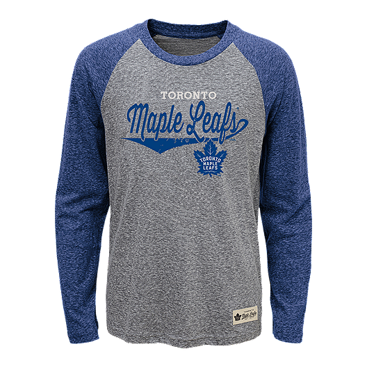 fbec0addc0e Toronto Maple Leafs Kids  Hockey Roots Raglan Shirt