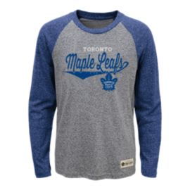 Toronto Maple Leafs Kids' Hockey Roots Raglan Shirt
