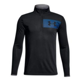 Under Armour Boys' Threadborne 1/4 Zip Long Sleeve Shirt