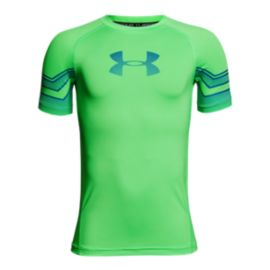 Under Armour Boys' HeatGear Armour Graphic T Shirt