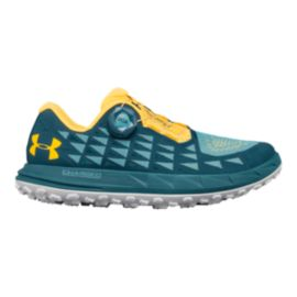 Under Armour Women's Fat Tire 3 Hiking Shoes - Sky/Teal/Dandelion