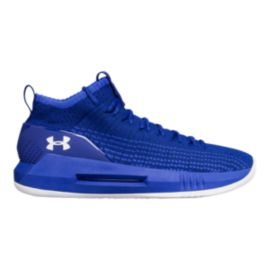 a4295738 Under Armour Men's Heat Seeker Basketball Shoes - Blue/White | Sport ...