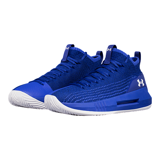 2d266d0b1fe Under Armour Men s Heat Seeker Basketball Shoes - Blue White. (0). View  Description