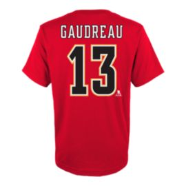 Calgary Flames Kids' Johnny Gaudreau Player T Shirt