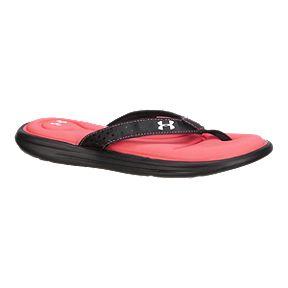 a53440d5c9fb Under Armour Women s Marbella VI T Sandals - Black Brilliance