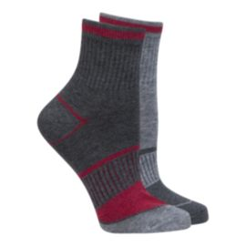 McKINLEY Women's Hike Quarter Socks - 2 Pack