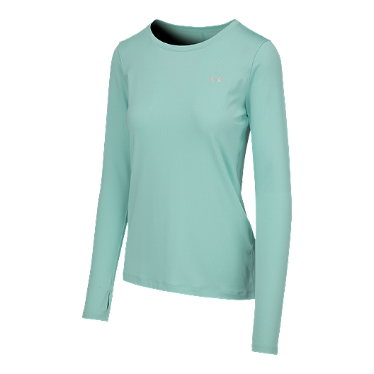 f391aae0 Under Armour Women's HeatGear Long Sleeve Shirt | Sport Chek
