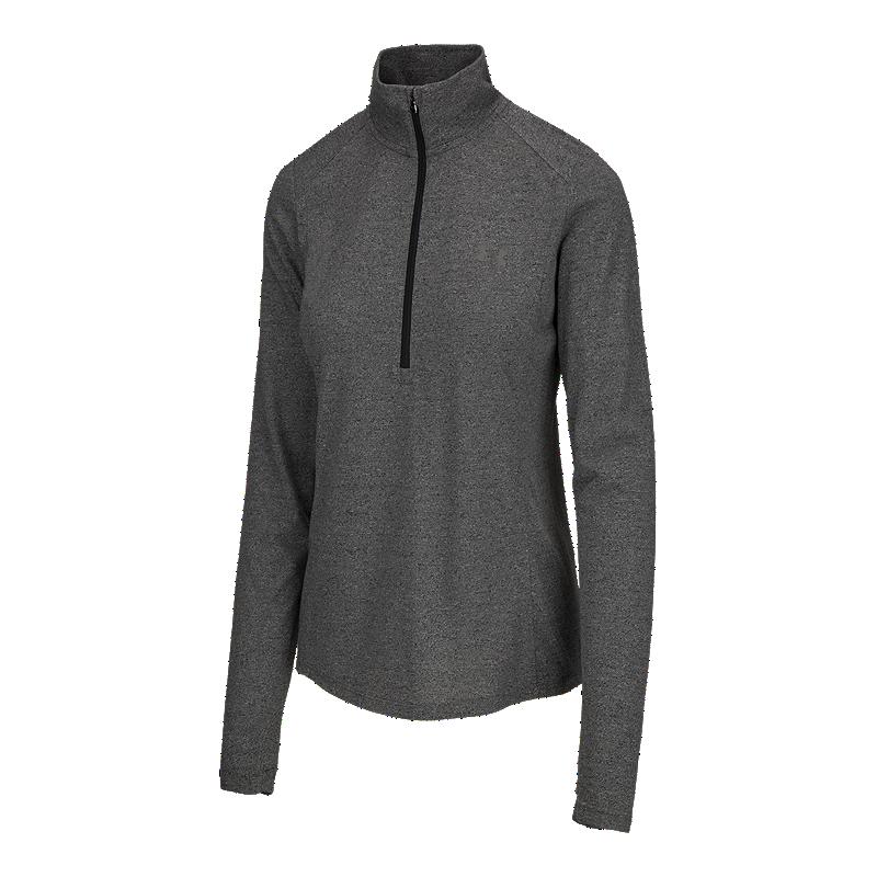Under Armour Women s Threadborne Twist 1 2 Zip Long Sleeve Training Shirt  f4e3b652eae