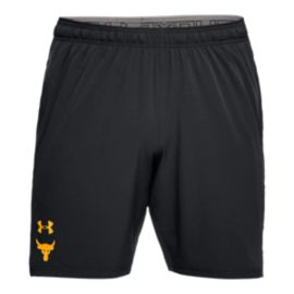Under Armour Men's Project Rock Cage Woven Training Shorts