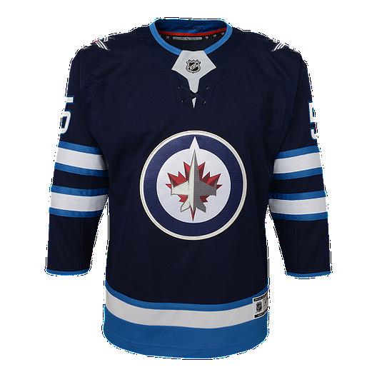best loved cb4e2 5e4fa Winnipeg Jets Kids' Mark Scheifele Home Hockey Jersey