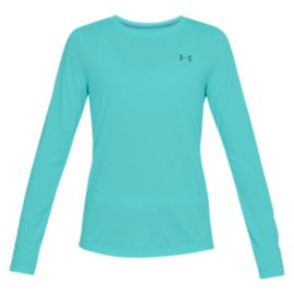 Under Armour Women's Threadborne Twist Long Sleeve Plus Size Shirt