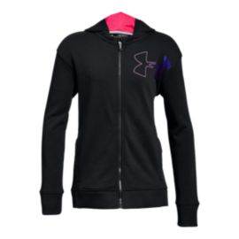 Under Armour Girls' Threadborne Terry Full Zip Hoodie