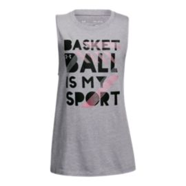 Under Armour Girls' Basketball Is My Sport Tank
