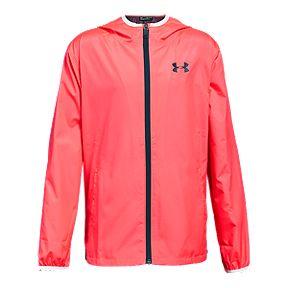 cad4fee4b Under Armour Girls' Sackpack Full Zip Jacket