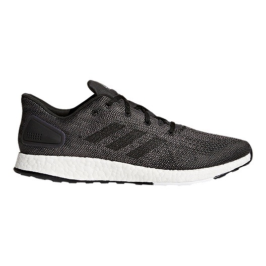bc3a9569d adidas Men s Pure Boost DPR Running Shoes - Grey White Black