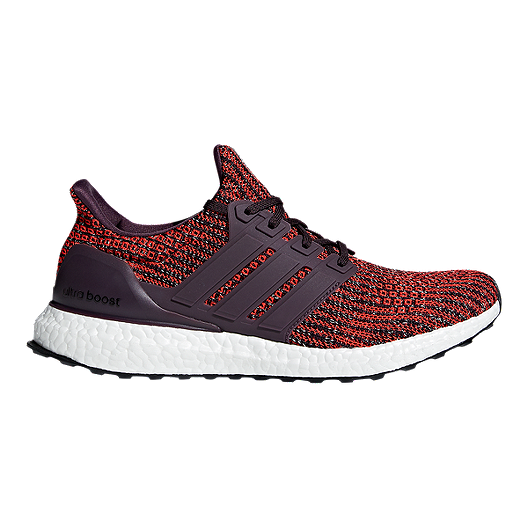 3ea0bb474b6 adidas Men s Ultra Boost Running Shoes - Red Black
