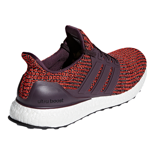 0f51ad27f adidas Men s Ultra Boost Running Shoes - Red Black