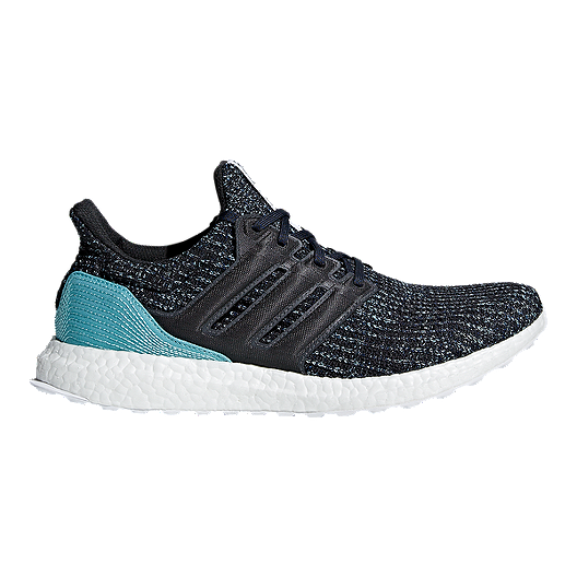 b2b61fbb5 adidas Men s Ultra Boost Parley Running Shoes - Grey Blue