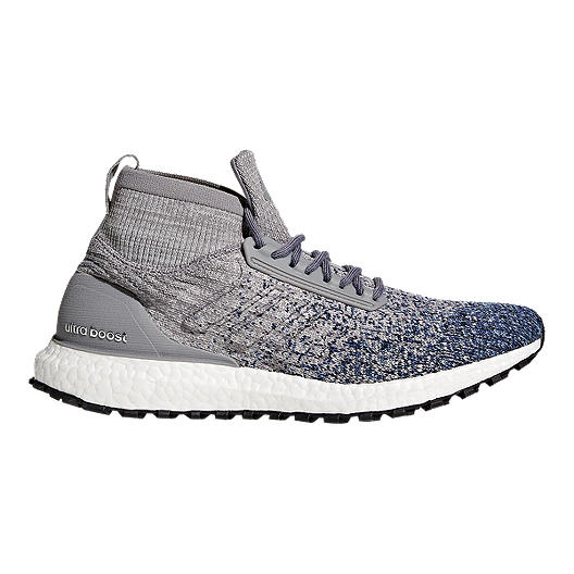 b5a29abb8a6 adidas Men s Ultra Boost All Terrain Running Shoes - Grey Blue ...