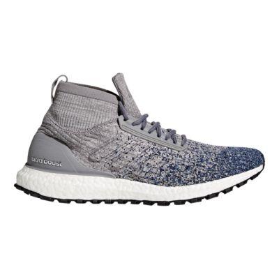 adidas Men\u0027s Ultra Boost All Terrain Running Shoes - Grey/Blue