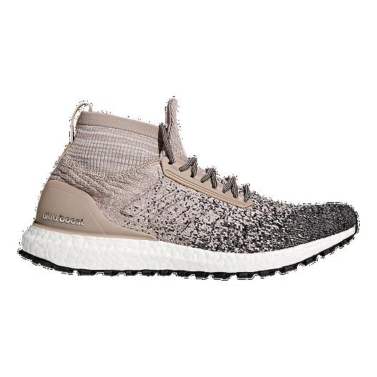 1870a765e adidas Men s Ultra Boost All Terrain Running Shoes - Grey Chalk Black
