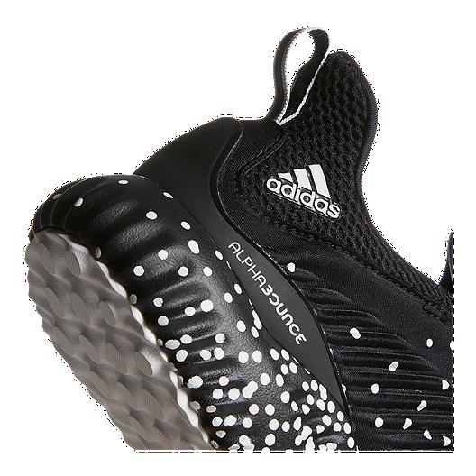 ed680477d adidas Men s AlphaBounce 1 Running Shoes - Black White Fade. (0). View  Description