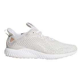hot sale online f1127 9ec2f adidas Men s AlphaBounce 1 Running Shoes - White Grey