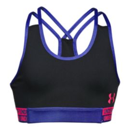Under Armour Girls' HeatGear Armour Sports Bra