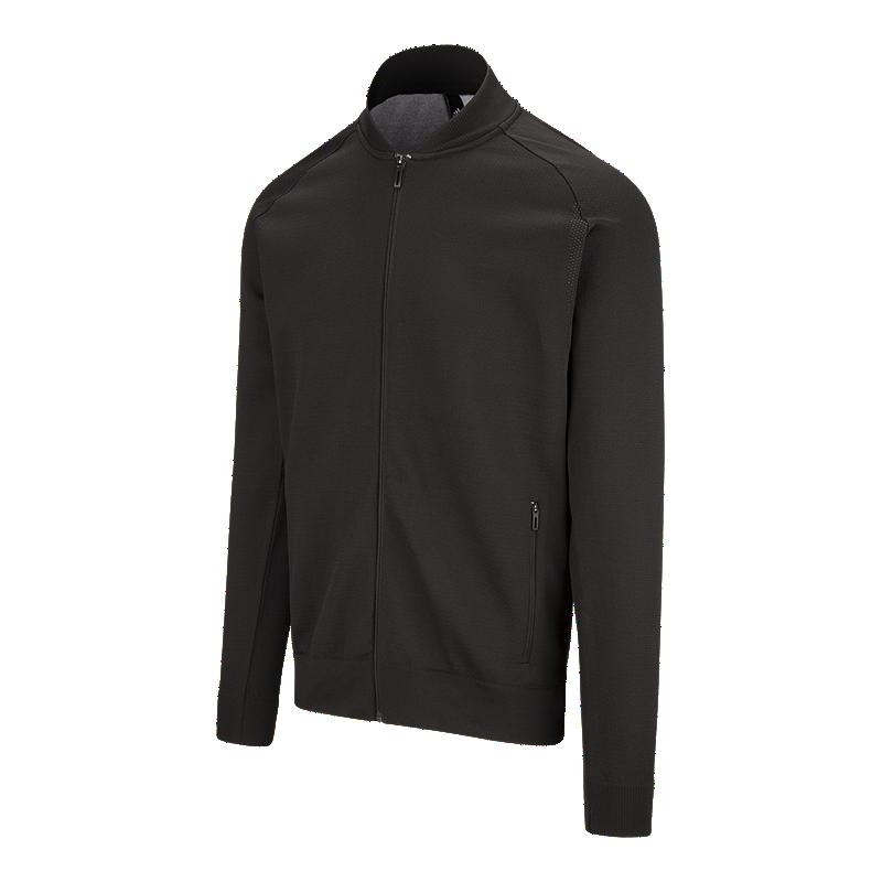 ab23426b adidas Men's ID Knit Bomber Track Jacket | Sport Chek
