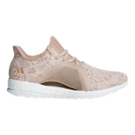 adidas Women's Pure Boost X Element Running Shoes - Pearl/Blue