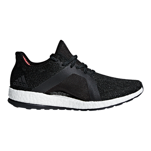 60c6a5e951300 adidas Women s Pure Boost X Element Running Shoes - Grey Black Coral ...