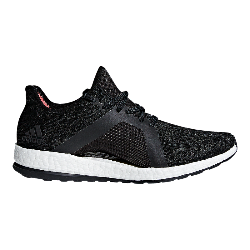 2a3b10903 adidas Women s Pure Boost X Element Running Shoes - Grey Black Coral ...