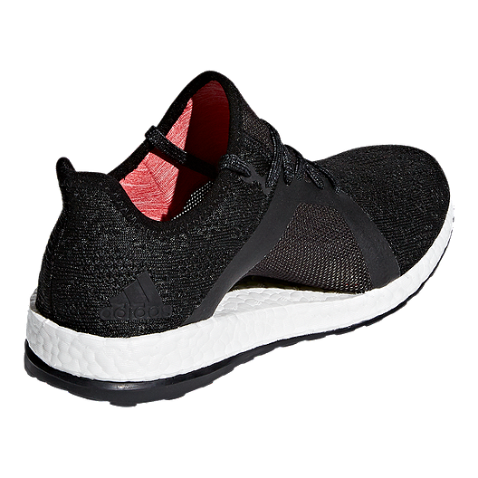 a890d0632f0002 adidas Women s Pure Boost X Element Running Shoes - Grey Black Coral ...