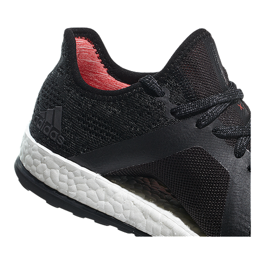 huge selection of 5d180 60772 adidas Women s Pure Boost X Element Running Shoes - Grey Black Coral. (6).  View Description